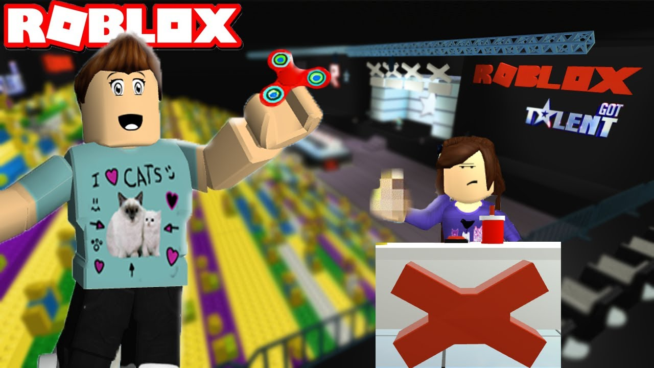 roblox got talent    ft  denisdaily  u0026 miranda sings
