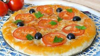 Тесто как в пиццерии — видео рецепт