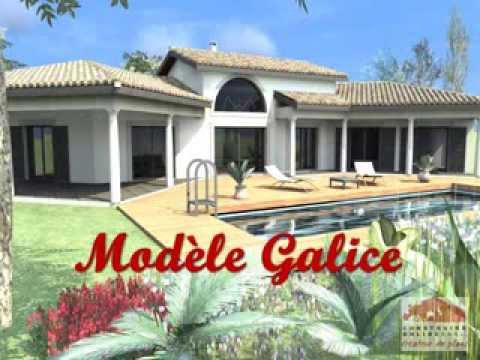 Video galice maison provencale youtube - Plan de maison provencale ...