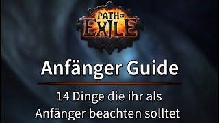 Path Of Exile Anfänger Guİde - 14 Dinge die man als Anfänger beachten sollte