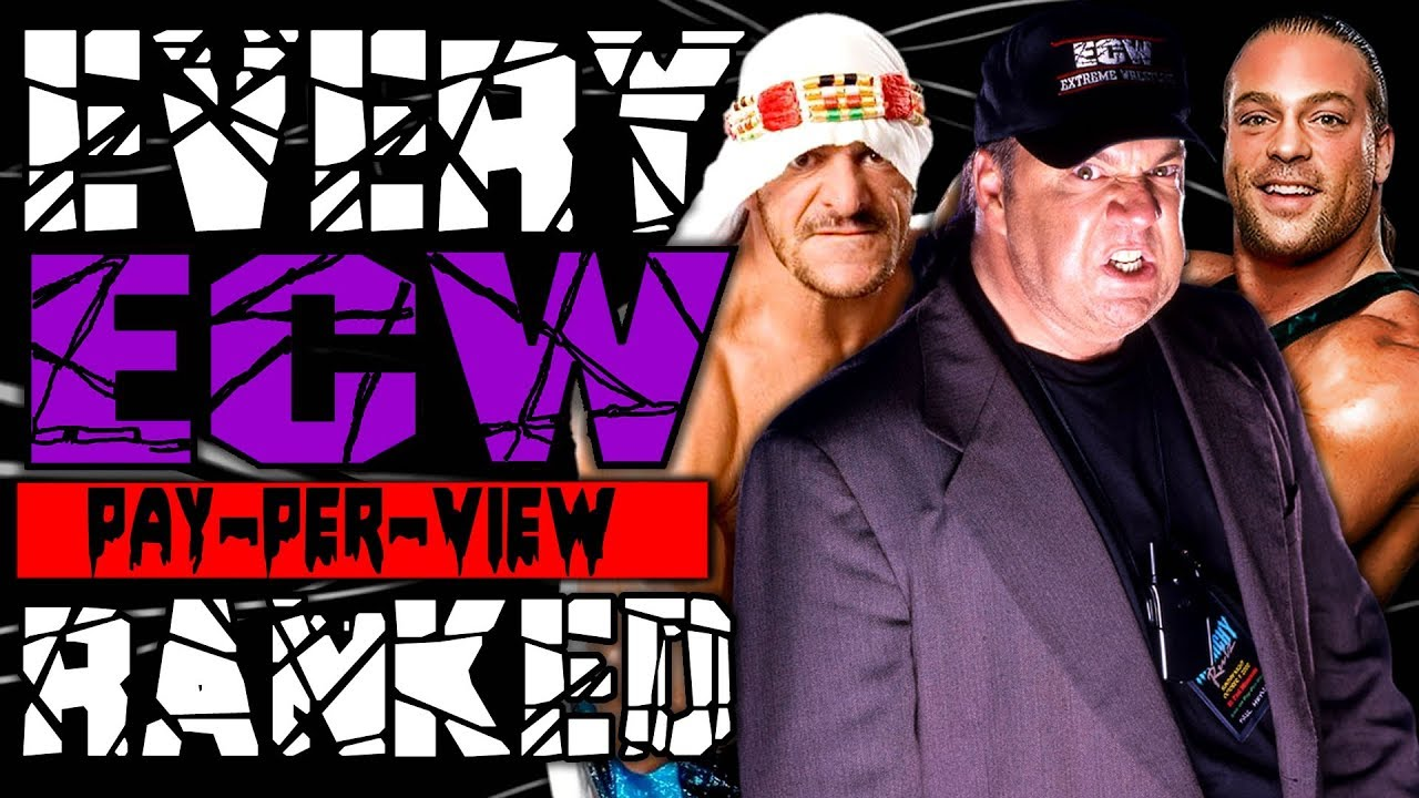 Every ECW PPV Ranked From WORST To BEST
