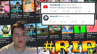 YouTube Is Banning ROBLOX Creators (Lets Talk)
