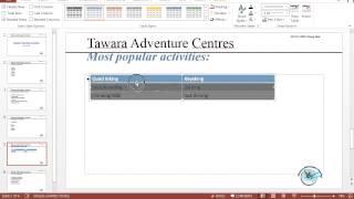 IGCSE ICT Summer 2014 Paper 21 - Presentation Authoring