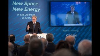 Gentiloni interviene a Milano all'inaugurazione della nuova sede Cefriel