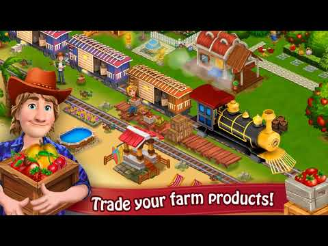 Farm Day Village Farming - Android Game Play Trailer 2