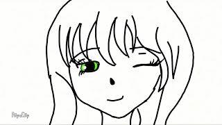 Моя первая анимация в стиле (АНИМЕ)