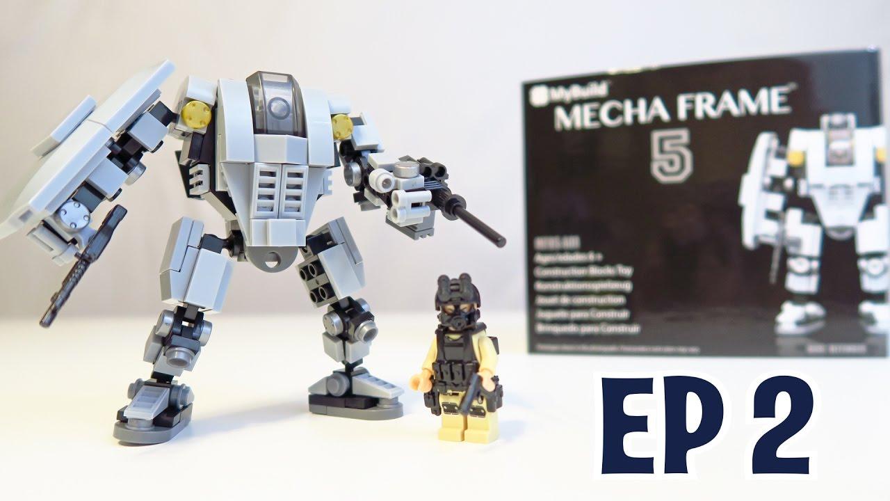 Mecha Frame 5 - Base Defender - Episode 2 (Robot Block / Lego Set ...