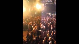 blessthefall ( awesome wall of death ) rock city 16th of january