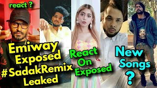 Emiway Bantai Exposed | Mukktak React On Emiway Exposed | Bohemia New Song | Ikka New Song !!