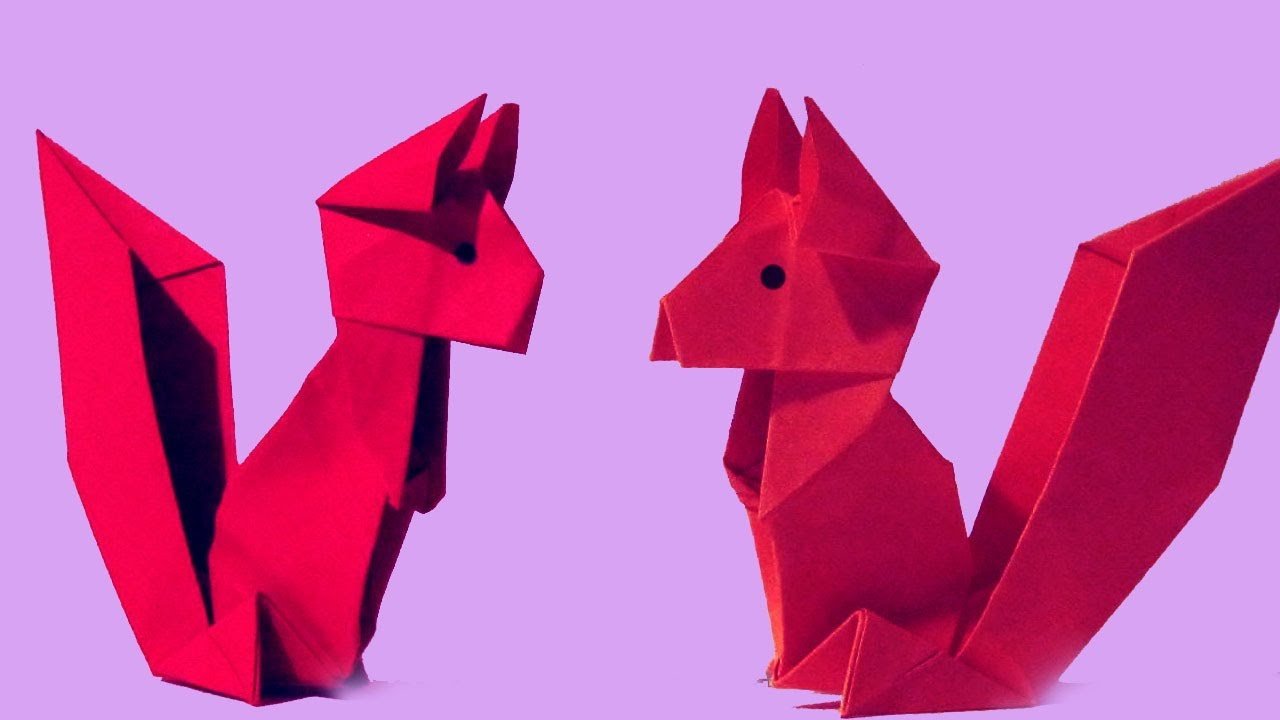 Easy origami squirrel how to make a paper squirrel easy easy origami squirrel how to make a paper squirrel easy paper squirrel paper factor jeuxipadfo Choice Image