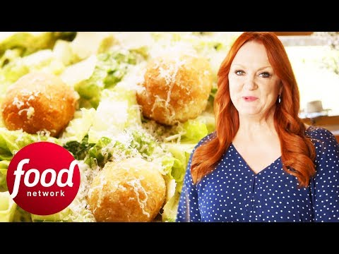 Fresh & Flavourful Caesar Salad With Garlic Not-Knots | The Pioneer Woman