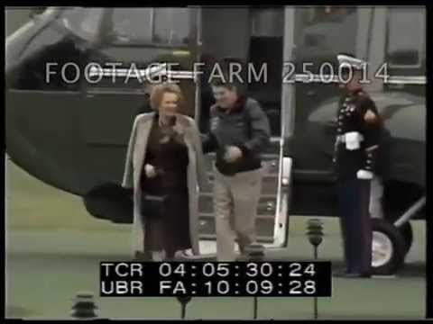 Thatcher Arrival, Meeting & Leaving Camp David 250014-02 | Footage Farm