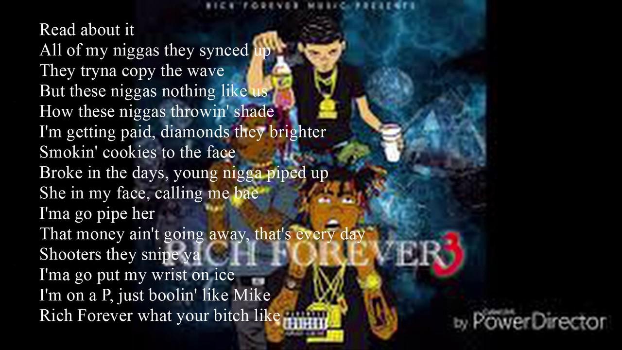 Rich The Kid ' Read About It' Lyrics x Famous Dex x Jay critch