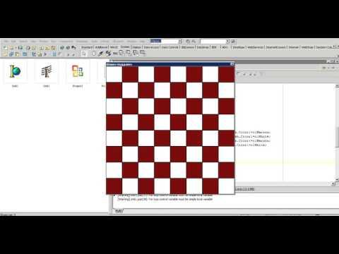 Отрывок платного Урока 67. Создание игры Шашки с обязательным битьем, ИИ и игре в поддавки