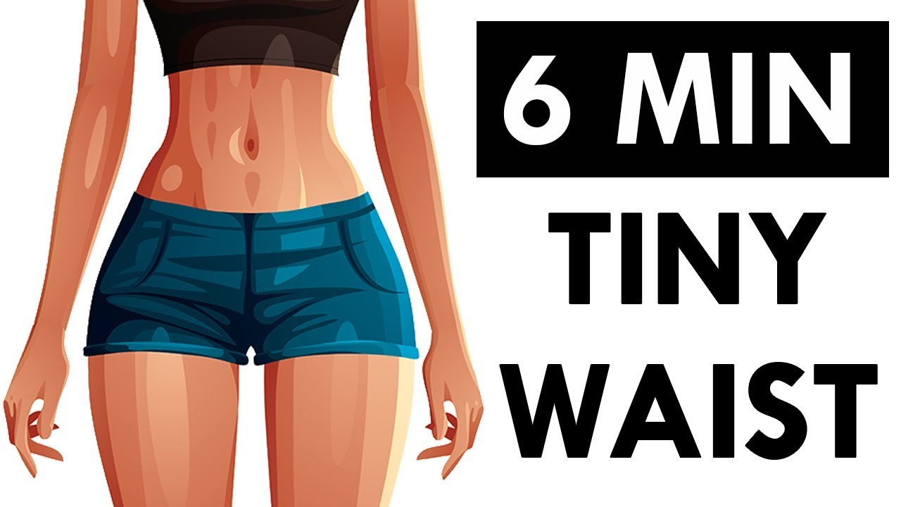 How To Get A Slim Waist Flat Stomach (10 Minute Seated Workout)