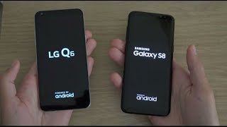 LG Q6 vs Samsung Galaxy S8 - Which is Fastest?