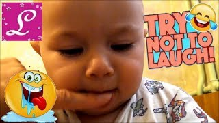 Try Not To Laugh Challenge Funny Kids Vines Compilation 2017  Funniest Kids Videos