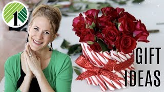 DOLLAR TREE GIFT IDEAS ❤️ Under $10 flower arrangements that are insanely gorgeous!