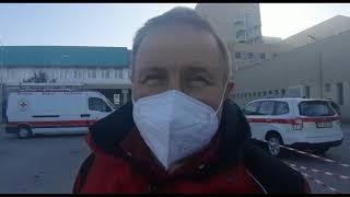 Covid l'arrivo dell'ospedale da campo a Termoli: parla Pierluigi de Ascentiis, responsabile Cri