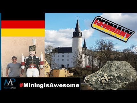 MINING IS AWESOME! Germany Visit - Purschenstein Castle - FULL HD