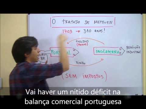 PARABENX!  O TRATADO DE METHUEN - MAI 13 - PROF. GABRIEL FEITOSA