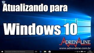 Aprendendo a atualizar para o Windows 10