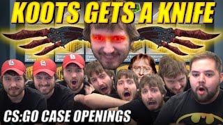 Koots Gets A Knife!!! - CS:GO Case Openings