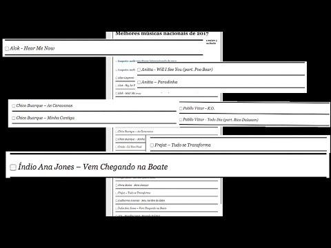 PÂNICO CAMPANHAS: VOTE NA MÚSICA DO ÍNDIO ANA JONES COMO MELHOR DO ANO