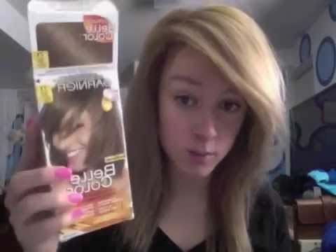 Garnier Belle Color 71 Dark Ash Blonde Hair Dye Youtube