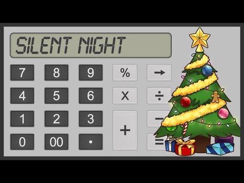 Silent Night - Calculator Cover - Tutorial thumbnail