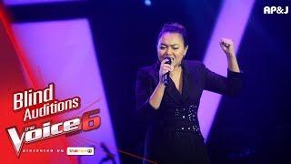 ฝ้าย - ขอแค่ได้รู้ - Blind Auditions - The Voice Thailand 6 - 3 Dec 2017