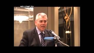 19 Φεβρουαρίου 2012 - Ομιλία του Μάξιμου Χαρακόπουλου σε εκδήλωση της Νέας Δημοκρατίας Αγγλίας