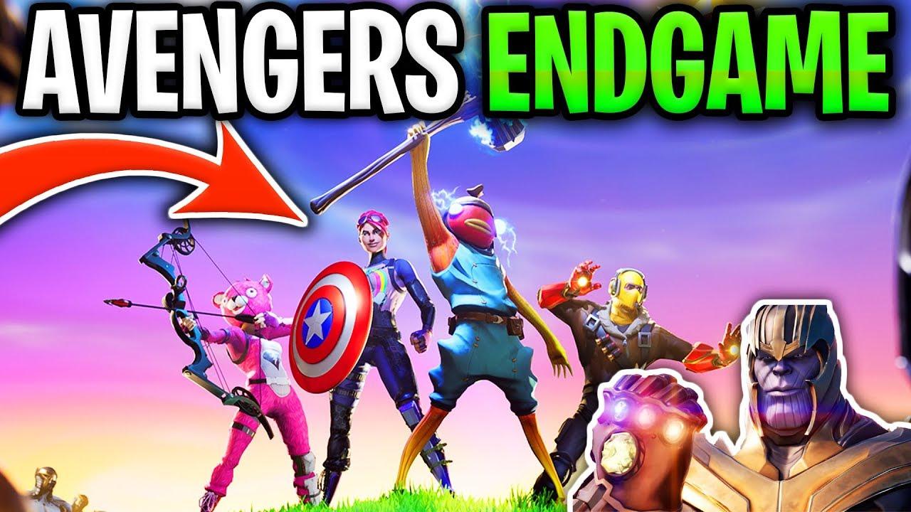 fortnite avengers endgame gamemode in fortnite battle