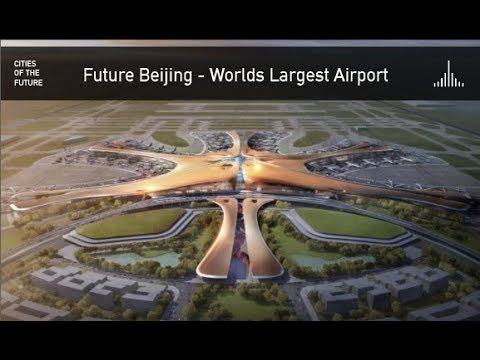 Future Beijing - Worlds Largest Airport by Zaha Hadid