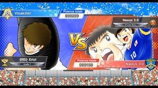 Ortega's Cup semifinale : Jorge VS. Toni ( Captain Tsubasa Dream Team )