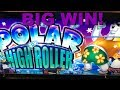 ** BIG WIN ** $2 Polar High Roller - RED SCREENS BONANZA **