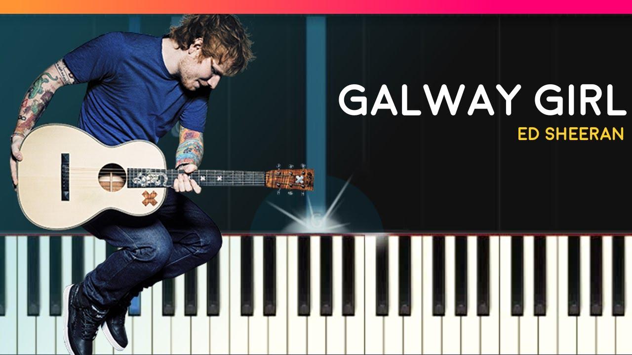 Ed sheeran galway girl piano lyrics tutorial chords how ed sheeran galway girl piano lyrics tutorial chords how to play cover hexwebz Images