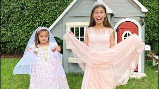 Nastya trở thành cô dâu lộng lẫy trong đám váy cưới