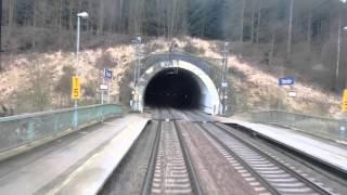Pohled z vlaku na trati Zábřeh - ČeskáTřebová