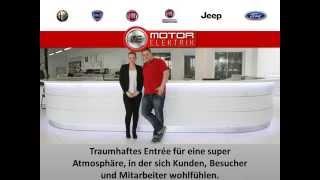 Empfangsmöbel Im Autohaus Fiat Jeep Ford Alfa Romeo Lancia  Bei Motor Elektrik Werdau