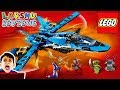 Lego Jays Storm Fighter Speed Build And Review | Lego Ninjago | Lego Speed Build