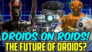 T3-M4 Puts the Droids on Roids! Crazy Damage in Arena! | Star Wars: Galaxy of Heroes