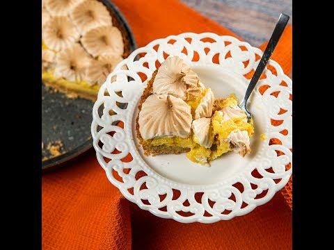 Tartă cu lămâie și bezea