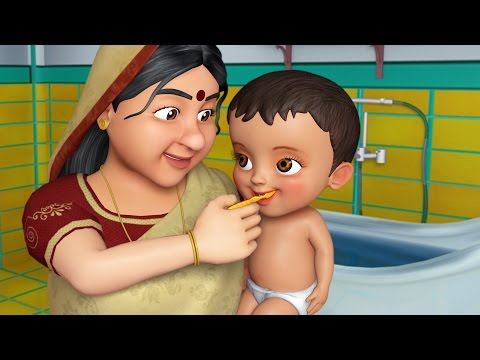 Dadi maa (Grandmother) |Hindi Rhymes for Children | InfobellsHindi Rhymes
