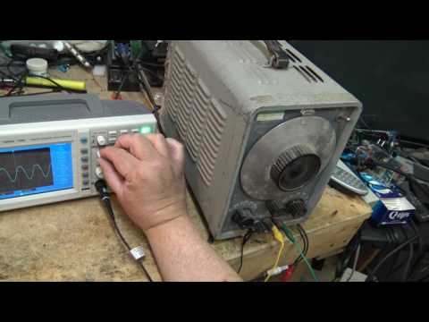 Uni Trend 100MHz 2 channel DSO unboxing