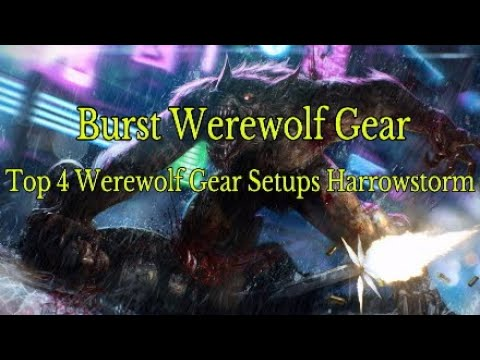 Eso Top 4 Werewolf Burst Pvp Gear Setups Youtube