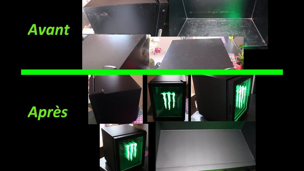 r paration r novation t le peinture mini frigo fridge monster energy youtube. Black Bedroom Furniture Sets. Home Design Ideas