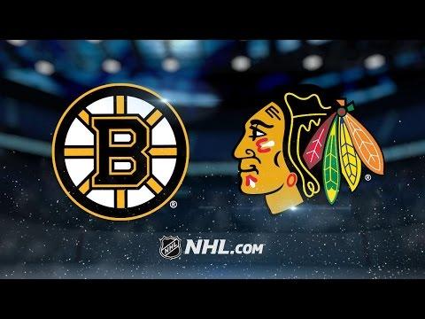 Kane notches the hat trick, Blackhawks defeat Bruins