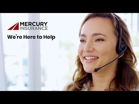Mercury Insurance: We're Here To Help