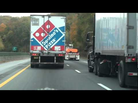Papa Johns Pizza Delivery Truck Fail What Bufoonery | Doovi